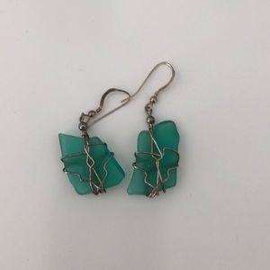 Jewelry - Sea glass Earrings from Maine